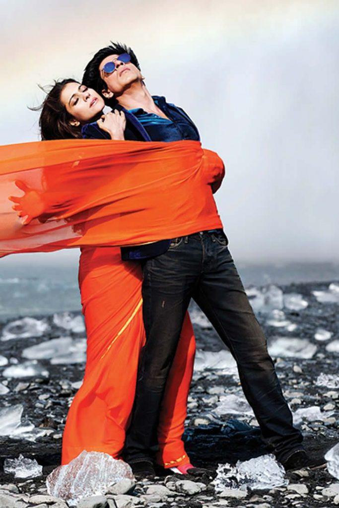 Dilwale song Gerua, Shah Rukh Khan and Kajol