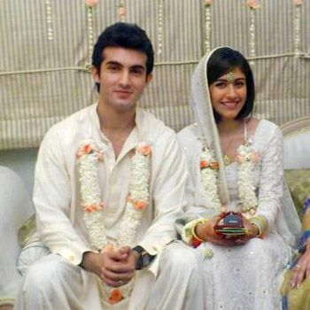 The Young Couple Syra Yousuf And Shehroz Sabzwari Tie The Knot