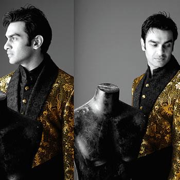 Men Clothing by Munib Nawaz, Designer Munib Nawaz Biography