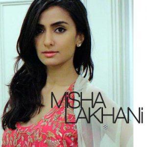 Pakistani Fashion Designer Misha Lakhani, Fashion Designer Misha Lakhani
