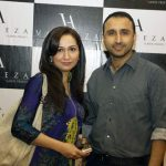 Asifa and Nabeel at V Lawn 2011 Exhibition