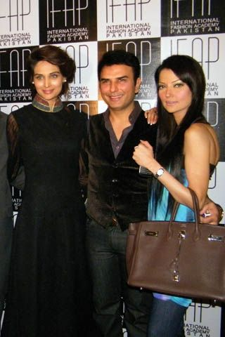 Launch of International Fashion Academy Pakistan by Mehreen Syed
