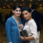 Sonia and Iffat Rahim at V Lawn 2011 Exhibition