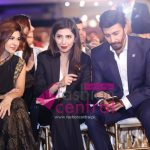 Aisha Umar, Mahira Khan and Aijaz Aslam