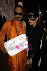 Mahira Celebrate Halloween with Other Celebrities