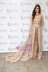 Umsha By Uzma Babar Bridal Collection Exhibition