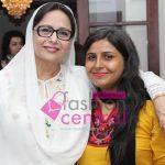 Khushbakht Shujaat with Aisha