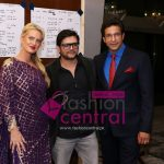 Shaniera Thompson, Faisal Kapadia and Wasim Akram