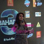 Sumayrah Hosting the Press Conference