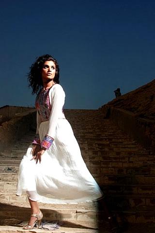 Tabassum Mughal Pakistani Fashion Designers Eid Collection for 2009