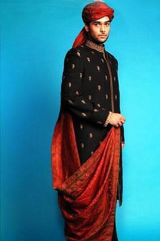 Groom dresses by Deepak Perwani
