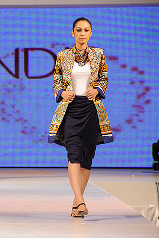 Rubya Chaudhry modeled for Body Focus