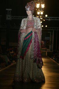 Ali Xeeshan Bridal wears at bridal couture week 2010