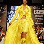 Ayyan modeled for Aziz Ali