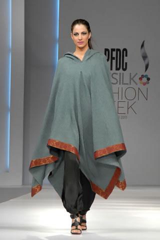 Yahsir Waheed at PFDC Sunsilk Fashion Week Lahore 2011