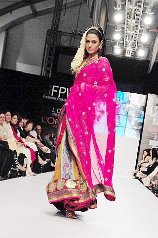 Faiza Samee at Fashion Pakistan Week 2010