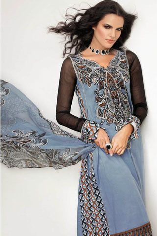 Gul Ahmed Summer Lawn Collection 2011-12
