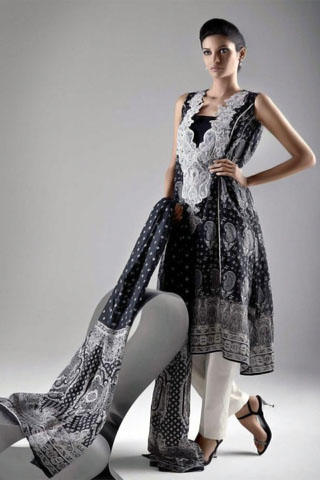 Gul Ahmed Summer Lawn Collection 2011