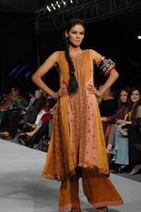The Power Line - Hajra Hayat's collection at PFDC Sunsilk Fashion Week 2010