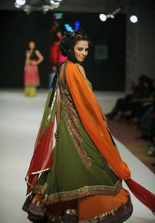 Kamiar Rokni Collection at Islamabad Fashion Week 2011