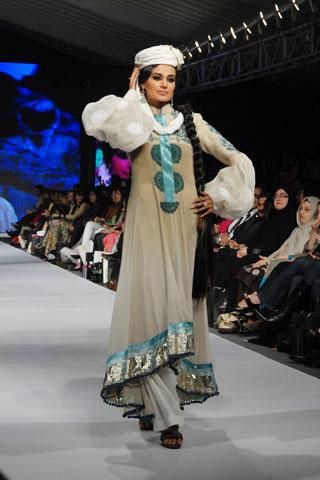 Maria B.'s collection at PFDC Sunsilk Fashion Week 2010
