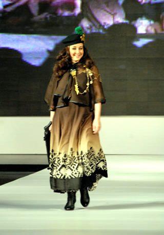Maria B.'s Collection at PFDC Sunsilk Fashion Week 2010 Karachi