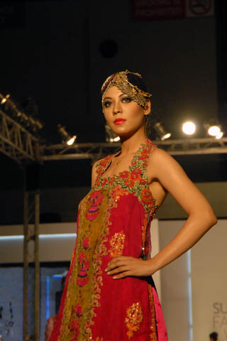 Nickie Nina at PFDC Sunsilk Fashion Week Lahore