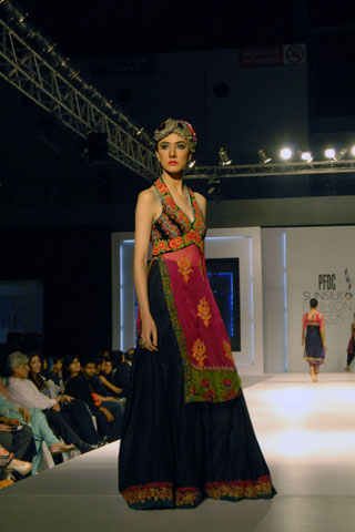 Nickie Nina's Collection at PFDC Sunsilk Fashion Week 2011 Lahore