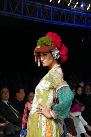Nickie Nina's Collection at PFDC Sunsilk Fashion Week 2010