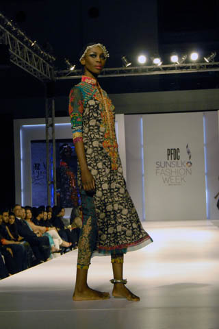 Nickie Nina Latest Designs at PFDC Sunsilk Fashion Week 2011 Lahore
