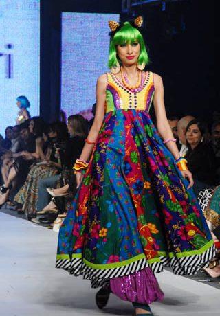 Nomi Ansari's collection at PFDC Sunsilk Fashion Week 2010