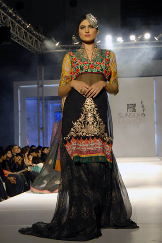 Latest 2011-12 Collection by Nickie Nina at PFDC Fashion Week Lahore