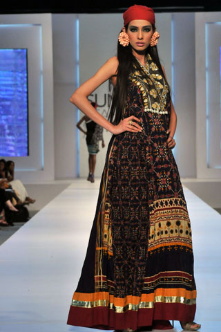 Ittehad Collection at PFDC Sunsilk Fashion Week  2011 by Mehdi