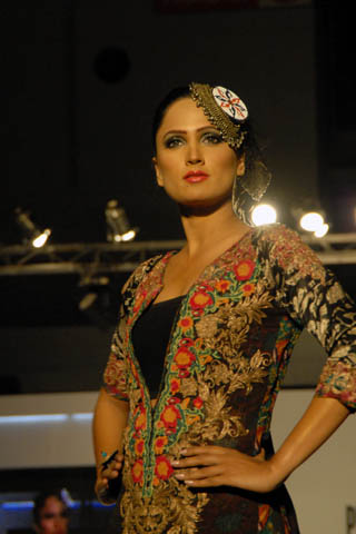 Latest 2011 Collection by Nickie Nina's at PFDC Lahore