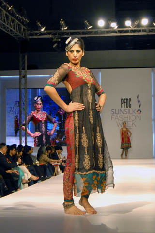 PFDC Fashion Week 2011 Lahore by Nickie Nina Latest Collection