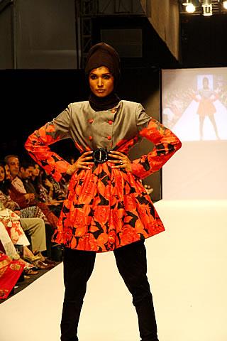 Rabia at Fashion Pakistan Week 2010