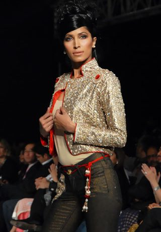 The Rebel collection By Rouge at PFDC Sunsilk Fashion Week 2010