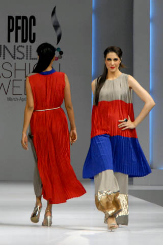 Muse Collection at PFDC Sunsilk Fashion Week Lahore, PFDC Lahore 2011