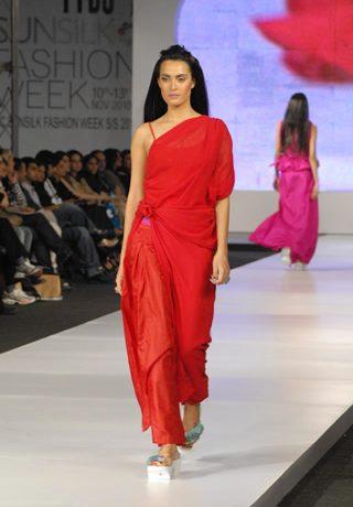 Sadaf Malaterre Collection at PFDC Sunsilk Fashion Week 2010 Karachi