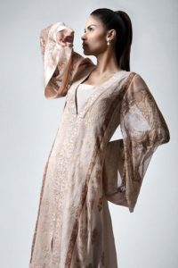 Neha Ahmed Modeled for Threads and Motifs Winter Collection 2010