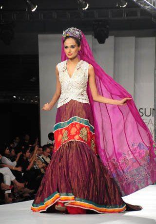 Ali Xeeshan at PFDC Sunsilk Fashion Week 2012 Day 3, PFDC Sunsilk Fashion Week 2012