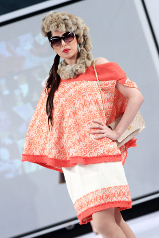 BNS Collection at Islamabad Fashion Week