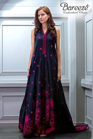 Embroidered Eid Collection 2012 by Bareeze, Eid Collection 2012