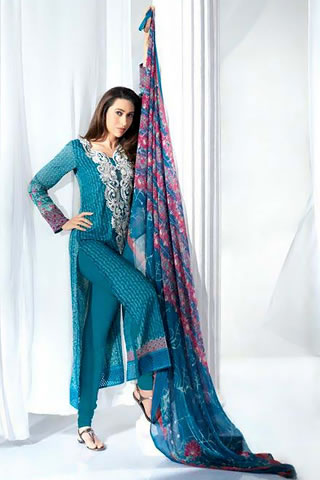 Crescent Lawn Collection 2012 by Faraz Manan, Summer Lawn Prints 2012