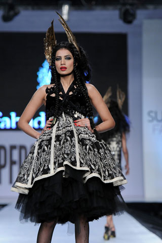 Rabia Butt at PFDC Sunsilk Fashion Week 2012
