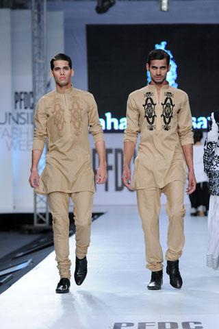 Fahad Hussayn at PFDC Sunsilk Fashion Week 2012 Day 2