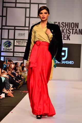 Feeha Jamshed at Fashion Pakistan Week 2012 Day 4, Fashion Pakistan Week 2012