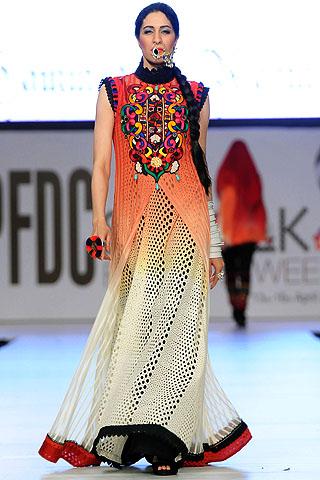 Sabina at PFDC Sunsilk Fashion Week 2012 Day 3