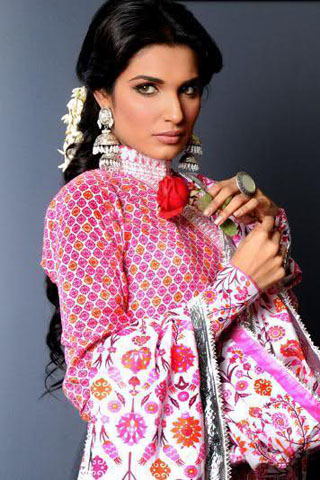 Jahanara Begum Lawn Collection 2012 By Yahsir Waheed, Summer Lawn 2012