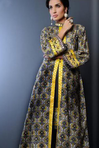 Jahanara Begum Lawn Collection 2012 By Yahsir Waheed
